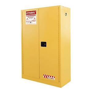 SYSBEL WA810450 易燃液體安全儲存櫃 45加侖 黃色