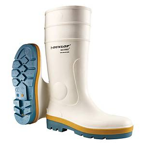 Dunlop B780331 防滑安全水鞋 45碼 白色