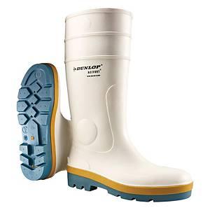 Dunlop A781331 鋼頭防滑安全水鞋 36碼 白色