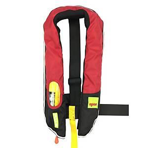 Eyson ES639716 自動充氣脖掛式救生衣 紅色