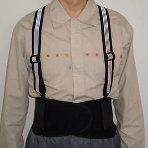 透氣尼龍料保護腰封 - 中碼
