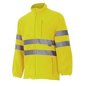 Chaqueta polar de alta visibilidad Velilla 181 - amarillo - talla 2XL