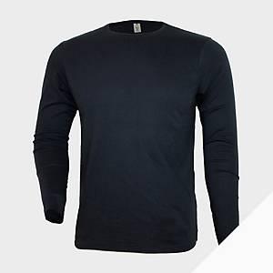 Camiseta de manga larga Mukua MK156CV - azul - talla XL