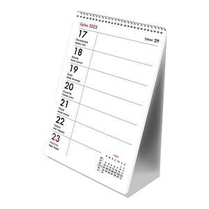 Kalendarz biurkowy MICHALCZYK&PROKOP B6, ze spiralką pionowy