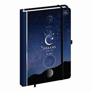 Kalendarz INTERDRUK A5, tygodniowy, galaktyka
