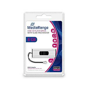 USB klíč MediaRange MR914 USB 3.0, kapacita 8 GB
