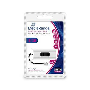 MediaRange MR914 USB pendrive, USB 3.0, kapacitás: 8 GB
