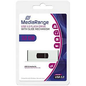 MediaRange MR916 USB pendrive, USB 3.0, kapacitás: 32 GB