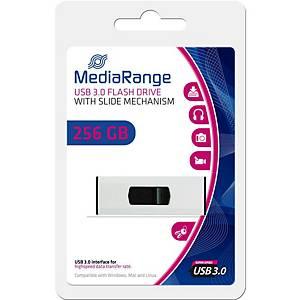 MediaRange MR919 USB pendrive, USB 3.0, kapacitás: 256 GB