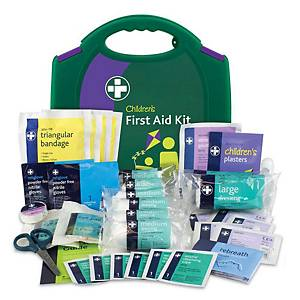 Child Care First Aid Kit W/Box Green