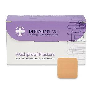 531 Plasters Washproof 4X4cm - Pack of 100