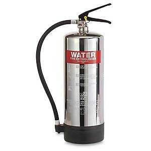 0225 Water Fire Extinguisher S/Steel 6L
