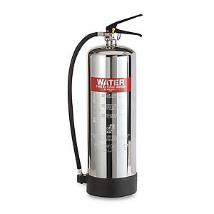 0226 Water Fire Extinguisher S/Steel 6L