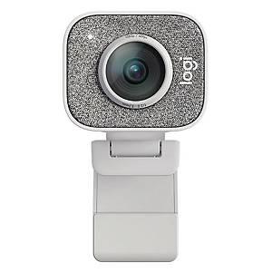 Logitech STREAMCAM C980 網絡攝影機 白色