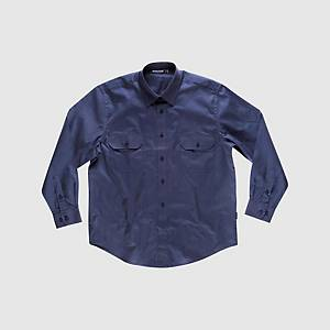 Camisa de manga comprida Workteam B8200 - azul marinho - tamanho 52