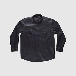 Camisa desportiva de manga comprida Workteam B8300 - preto - tamanho L