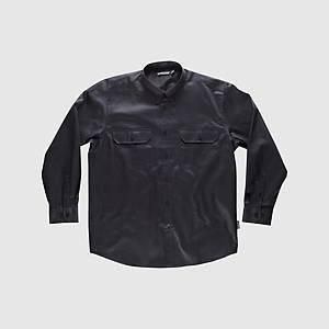 Camisa desportiva de manga comprida Workteam B8300 - preto - tamanho M