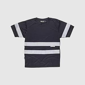 Camisola de alta visibilidade Workteam C3939 - preto - tamanho 3XL
