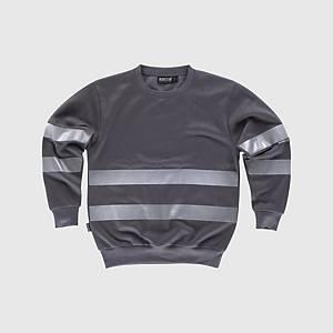 Sweatshirt de alta visibilidade Workteam C9031 - cinzento - tamanho M