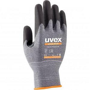 Protiporézní rukavice uvex athletic D5 XP, velikost 9