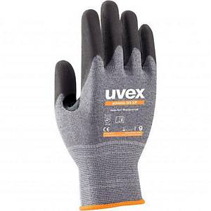 uvex athletic D5 XP cut protection gloves, size 9