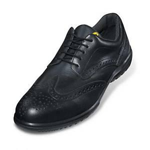 uvex business casual 95122 Sicherheitsschuhe, S1P SRC ESD, Größe 43, schwarz