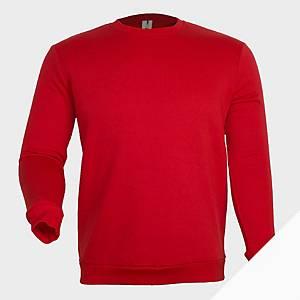 Sweatshirt de manga comprida Mukua MK620 - vermelho - tamanho XL