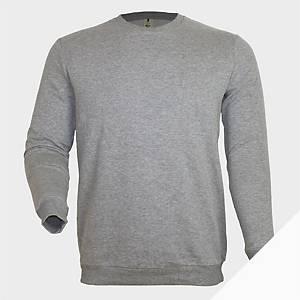 Sweatshirt de manga comprida Mukua MK620 - cinzento - tamanho L