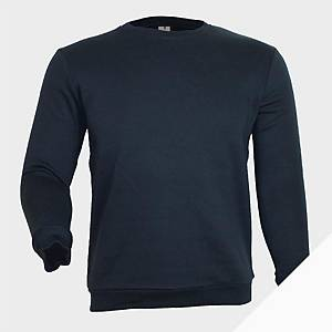 Sweatshirt de manga comprida Mukua MK620 - azul marinho - tamanho L