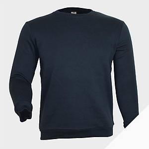 Sweatshirt de manga comprida Mukua MK620 - azul marinho - tamanho XL