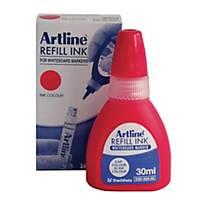 Artline Whiteboard Refill Ink 30ML Red