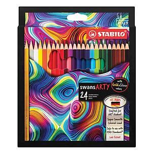 Stabilo Arty Colour Pencil - Box of 24