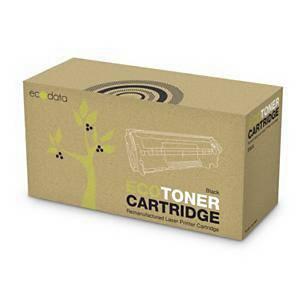 ECODATA kompatibler HP 55X (CE255X)/CANON CRG-724H (3482B002) lasertoner schwarz