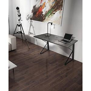 Scrivania Linea K 130 x 60 cm legno ossidato