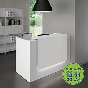 Strip luci LED Quadrifoglio Group per postazione reception 120 cm