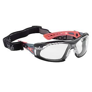 Schutzbrille Bolle Rush, grau/aprikose