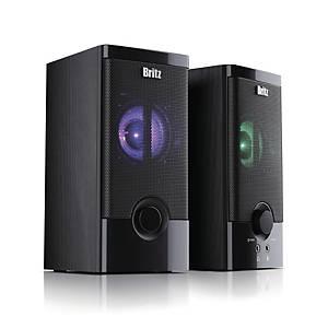 BRITZ BZ-505 ROLL 2CH LED SPEAKER BLACK