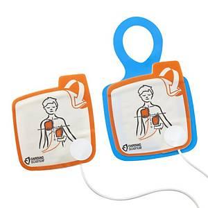 Pedi Elektrode Zoll Powerheart, für Defibril.Powerheart G5, für Kinder, 2tlg
