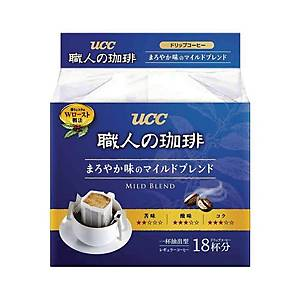UCC Drip Coffee Mild Blended - Pack of 18