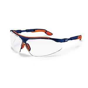 UVEX I-VO 9160-265 SAFETY GLASSES BLU/OR