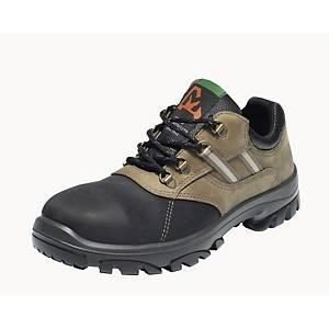 Chaussures de sécurité Emma Nordic, type S3, noir/nubuck, pointure 36, la paire