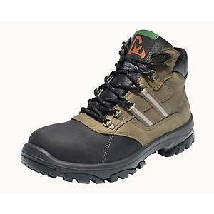 Emma Nestor hoge veiligheidsschoenen, type S3, zwart/nubuck, maat 38, per paar