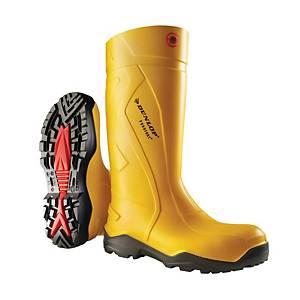 Bottes de sécurité Dunlop Purofort+®, type S5, noires, pointure 41, la paire