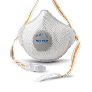 Moldex Air Plus R D 3408 FFP3 masker met ventiel, per 5 maskers