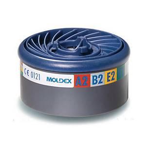 Moldex Easylock® filter 9800, per 8 filters