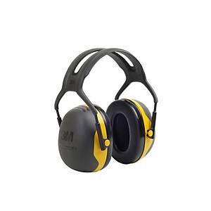Casque antibruit 3M Peltor™ X2, SNR 31 dB, noir/jaune