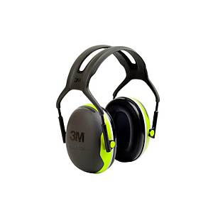 Casque antibruit 3M Peltor™ X4, SNR 33 dB, noir/jaune