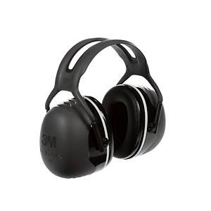 Casque antibruit 3M Peltor™ X5, SNR 37 dB, noir/gris