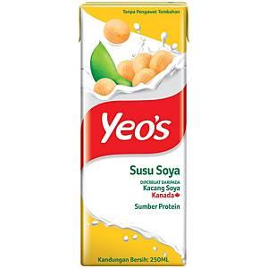 Yeo s Soy Bean Milk Tetra Pack 250ML - Pack of 6