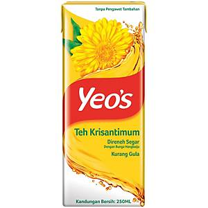 Yeo s Chrysanthemum Tea Tetra Pack 250ML - Pack of 6